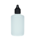 Leerflasche Oval 50ml HDPE