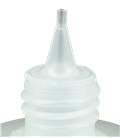 Leerflasche Oval 100ml HDPE