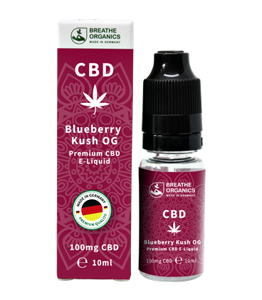 Breathe Organics CBD Blueberry Kush OG 10ml (100mg)