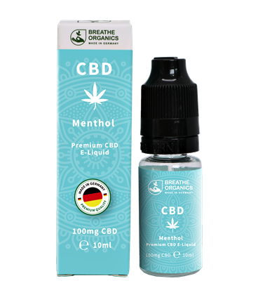 Breathe Organics activeCBD Menthol 10ml (100mg)