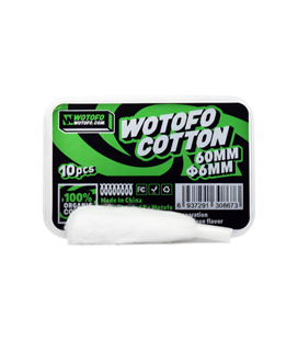 Wotofo XFiber Cotton 6mm (10 Stk.)