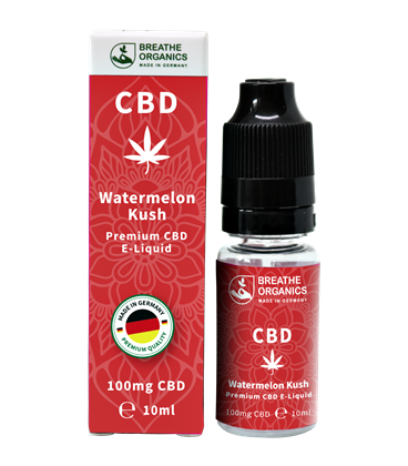 Breathe Organics CBD Watermelon Kush 10ml
