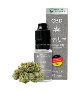 Breathe Organics CBD Super Silver Haze 10ml