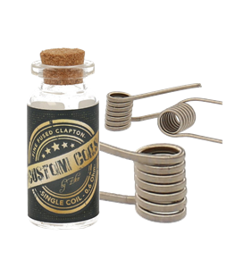 Custom Coils by Ziko (2 Stk.) (fine fused single 0,6 Ohm)