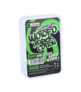 Wotofo XFiber Cotton 3mm (30 Stk.)