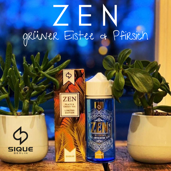 Sique Berlin - Zen - Short Fill Liquid